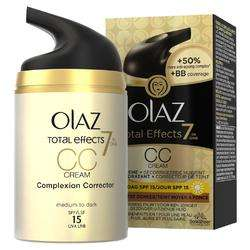 Olaz Total Effects 7-in-1 CC Creme Medium Tot Donker @ DeOnlineDrogist