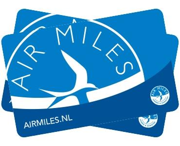 Spaar Air Miles met uw Mastercard