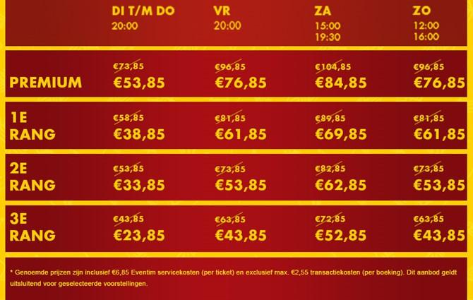 Lion King the musical. Ook vandaag 20 euro korting per kaartje