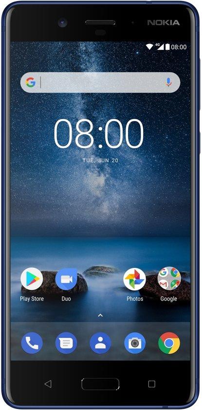 Nokia 8 - 64GB - Blauw @ Bol.com