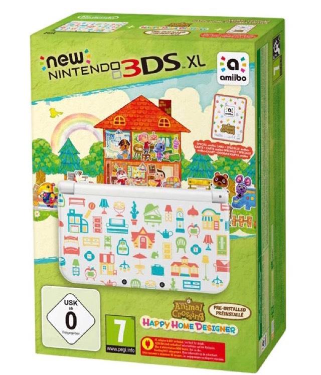 New Nintendo 3DS XL Animal Crossing: Happy Home Designer Edition