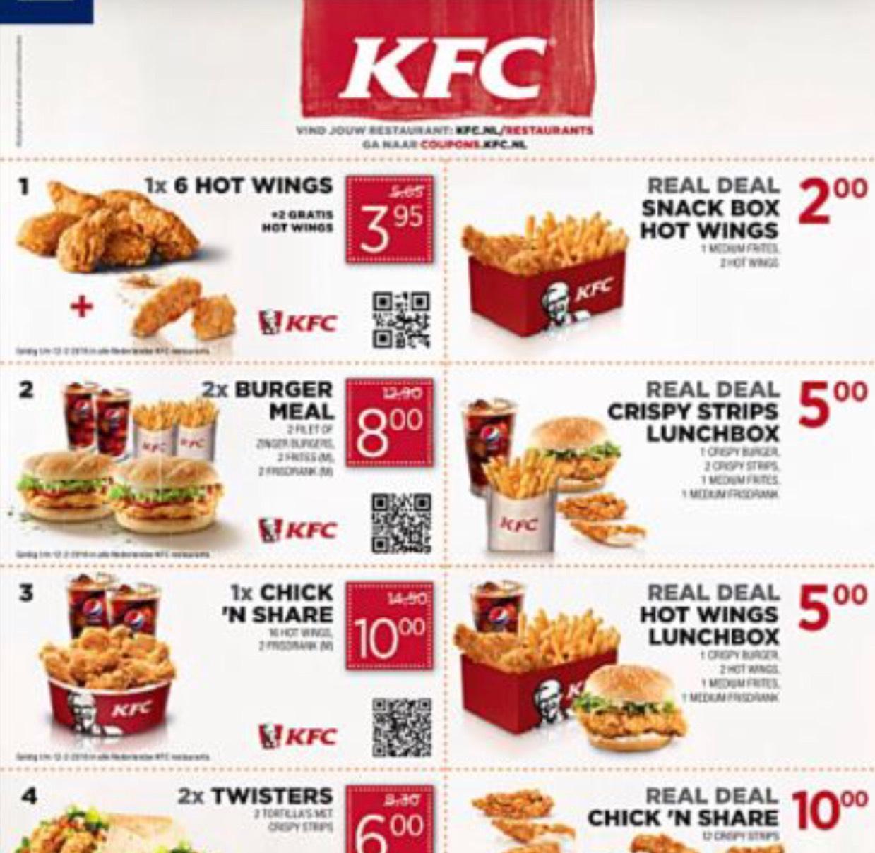 KFC coupons @KFC