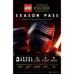 LEGO Star Wars:The Force Awakens Season Pass PS4/Xbox One voor €3,99 @ Gamedealdaily