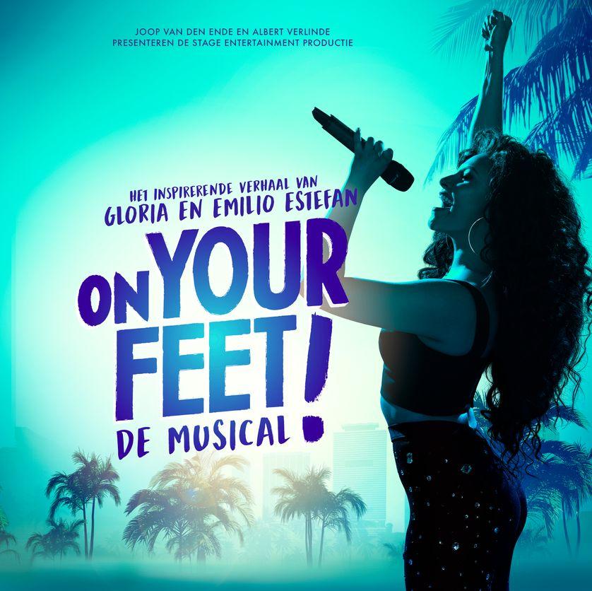 2 kaarten Musical On your feet voor 79 euro
