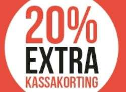 Actie: 20% extra korting @ Shoetime