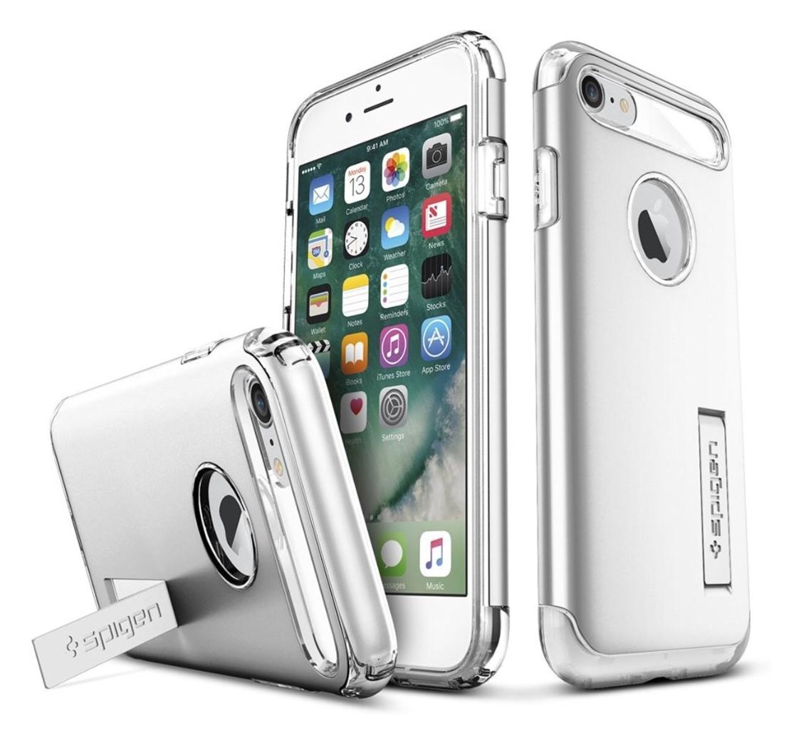 Spigen iPhone 7 Slim Armor Sat Silver
