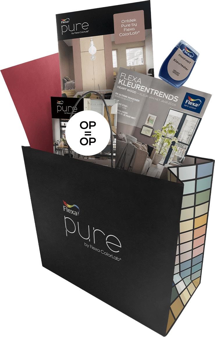 GRATIS Pure by Flexa Inspiratiepakket