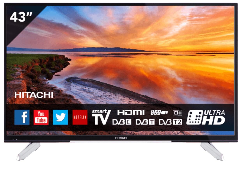 Hitachi tv 43HK6W64 43 inch (109 cm) @ Mediamarkt