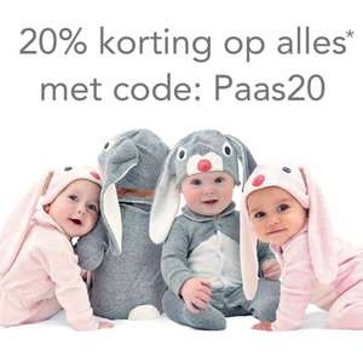 20% korting op bijna alles @Schattige Babykleertjes