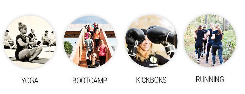 Gratis Try-Out Business Yoga/Bootkamp/Kickboks/Running