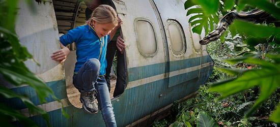 met treinpakkers een dagje naar Wildlands Emmen.