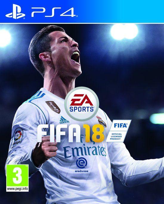 FIFA 18 voor PS4 in de Playstation Store