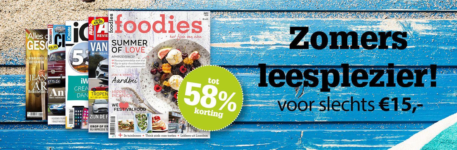 Super zomeractie bij F en L magazines