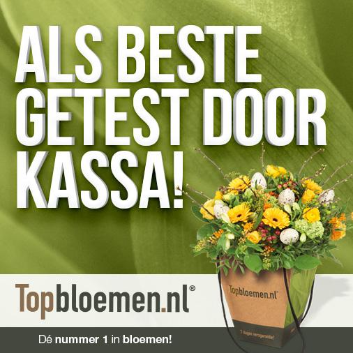 €5,- korting Topbloemen.nl