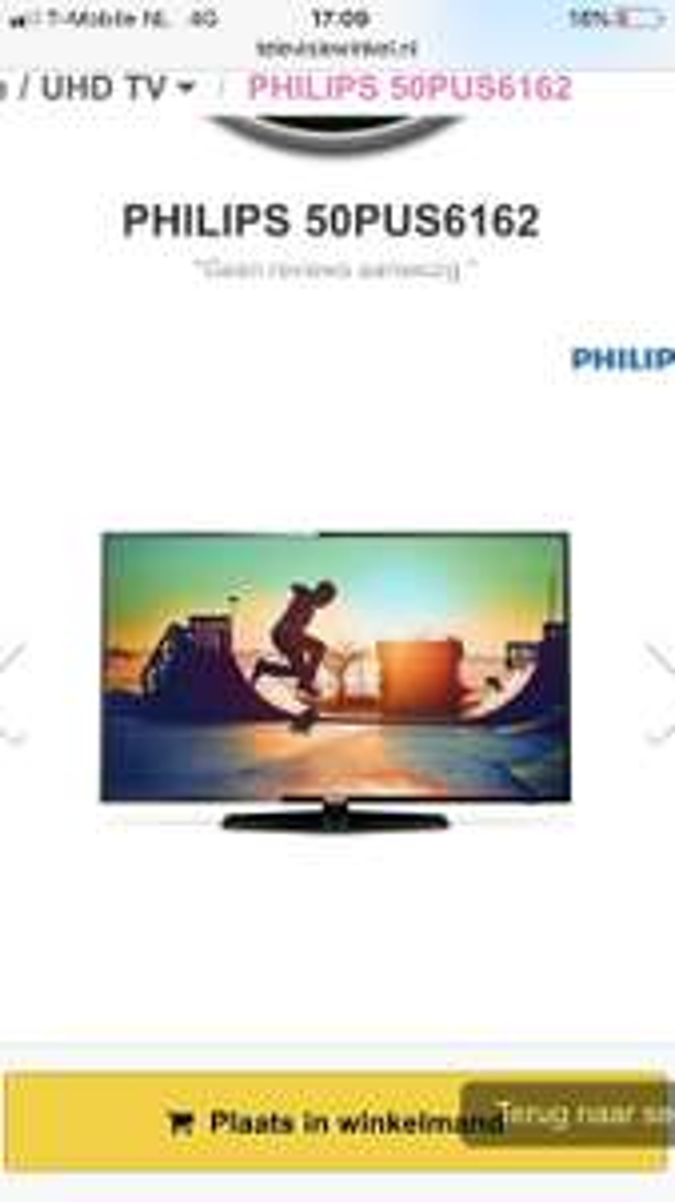 Philips 50PUS6162 4K TV