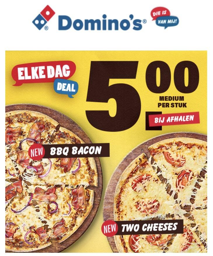 Domino's - Pizza voor 5 euro