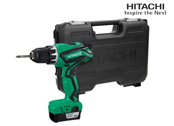 Hitachi 10,8 V Boor-/Schroefmachine van €157 naar €79,95 (+ €5,95 verzendkosten)