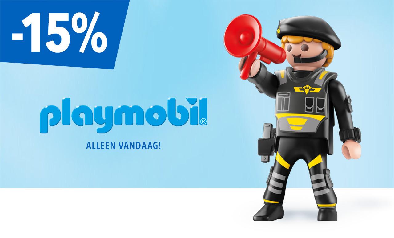 """Alleen vandaag -15% op PLAYMOBIL artikelen @ Toys """"R"""" Us"""