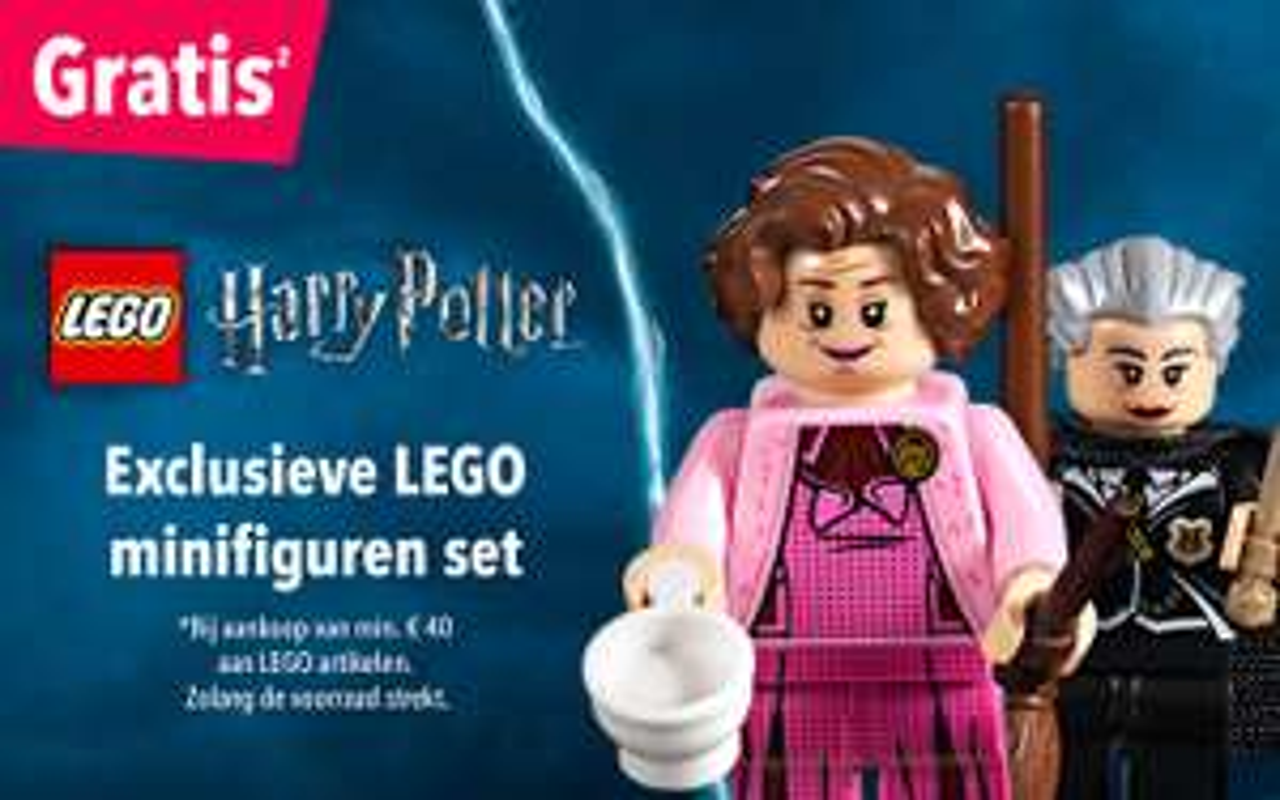 Gratis exclusieve LEGO minifiguren set bij een besteding vanaf €40 @ Toysrus