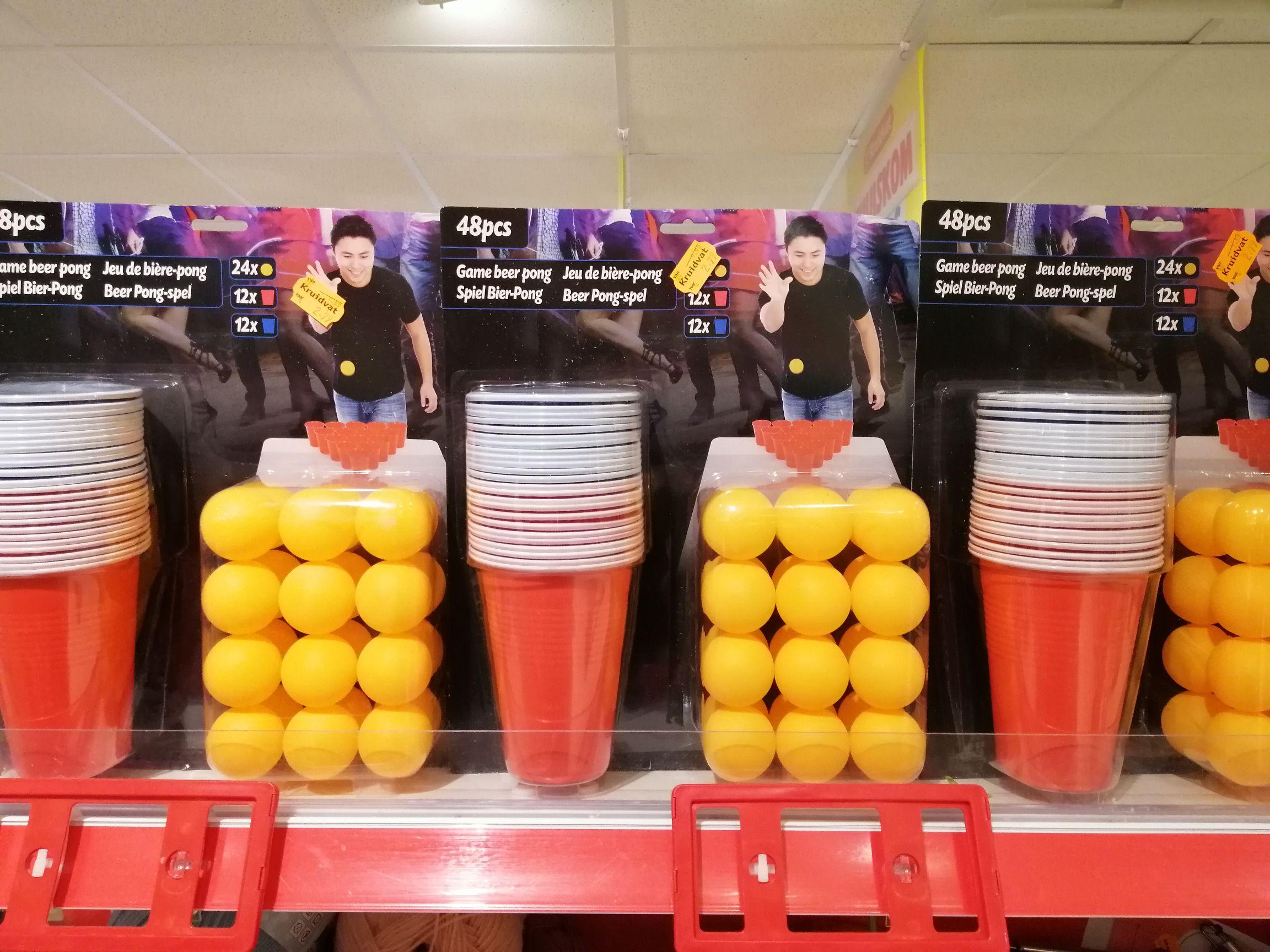 Beer pong  voor €2,79 @ Kruidvat