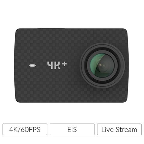 Yi 4K+ Action Cam (Gopro 6 equivalent)