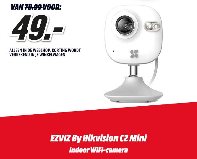 Ezviz indoor Wifi-camera - €49 @ Mediamarkt