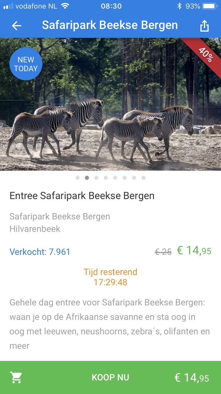 Safari park beekse bergen 14,95