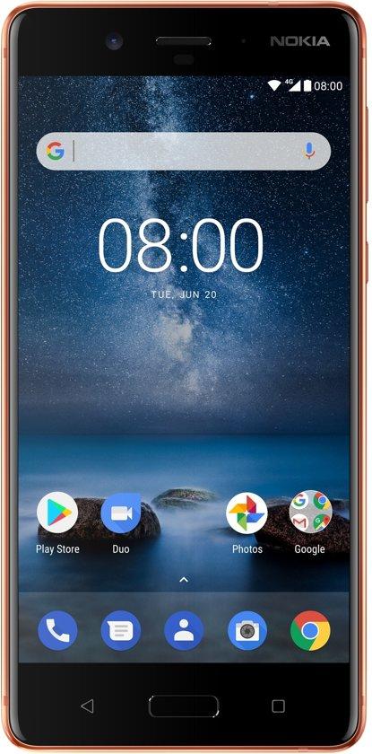 Nokia 8 - 64GB - Koper €270 @Bol.com