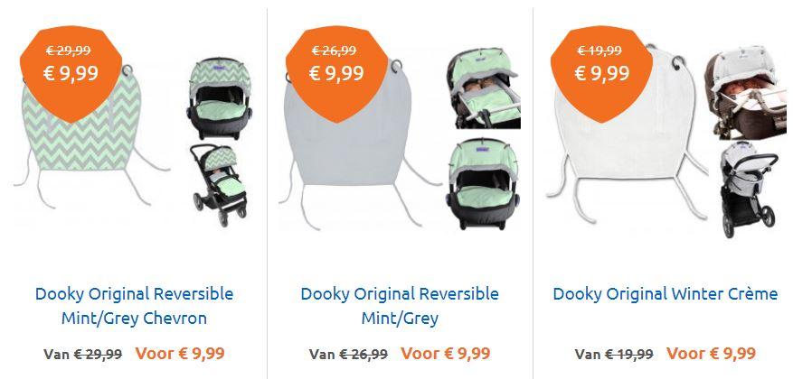 Dooky Original - 3 soorten - €9,99 p.s. @ Babysuperstore