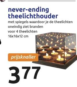 Never-ending theelichthouder @ action