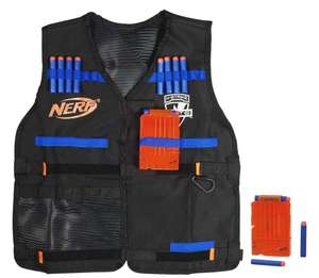 """Gratis NERF Tactical Vest met een waarde van € 34,99 bij aankoop van NERF artikelen van minstens € 60. @Toys""""R""""Us"""