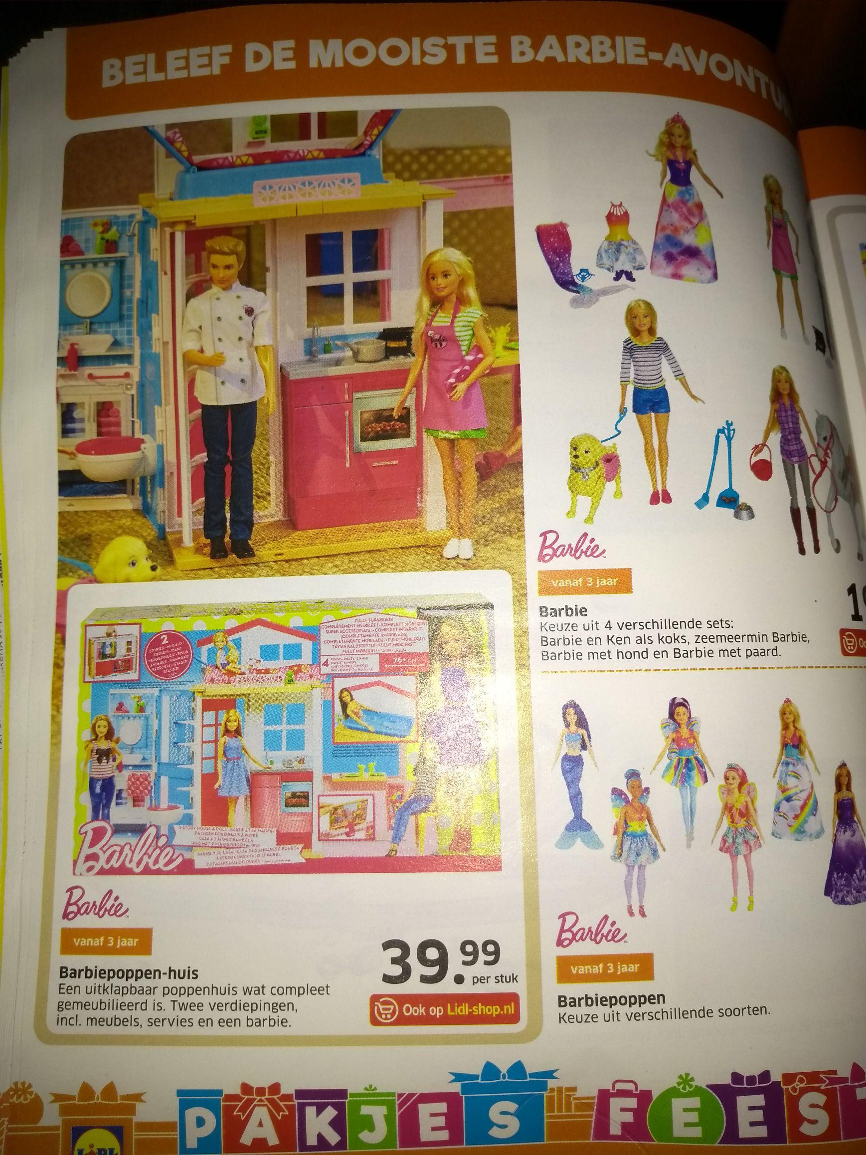 Barbie poppenhuis