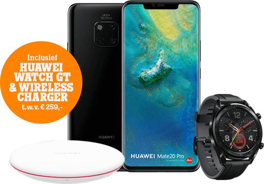 Huawei Mate 20 Pro @ Mediamarkt (i.c.m. maandelijks abo. Tele2) voor €809!