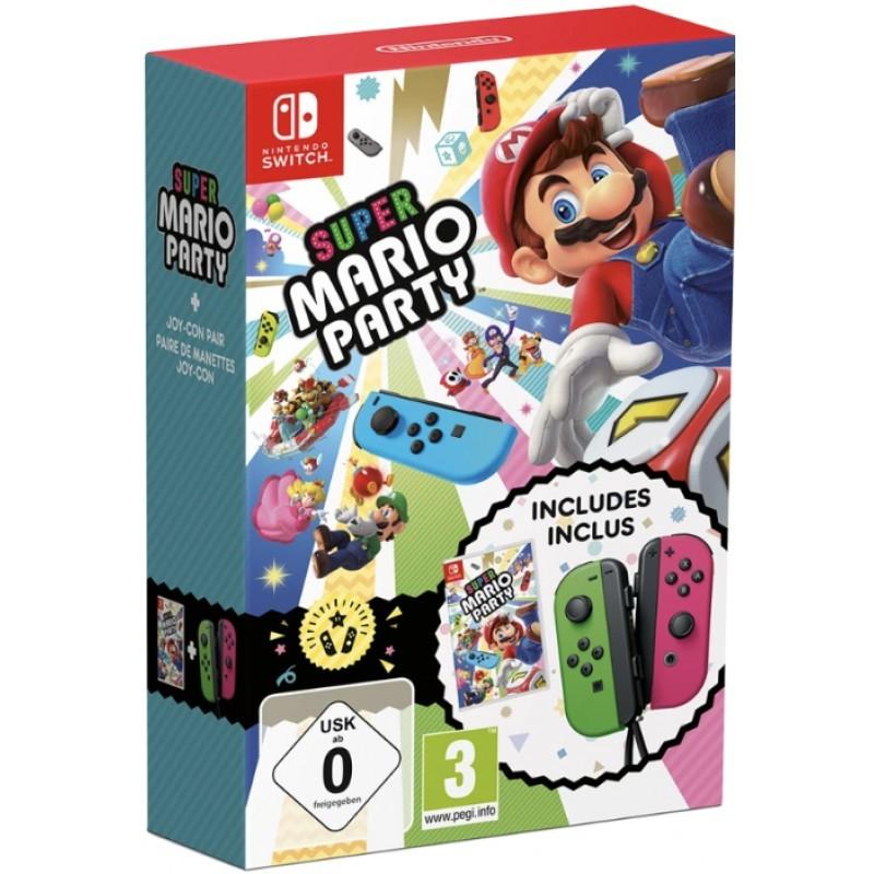 Super Mario Party bundel inclusief Neon Groen & Neon Pink Joy-Cons