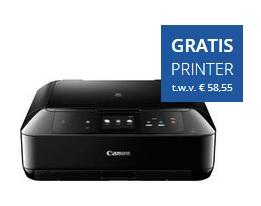 Gratis Canon Pixma Printer bij 3 huismerk bundels @ PrintAbout.nl