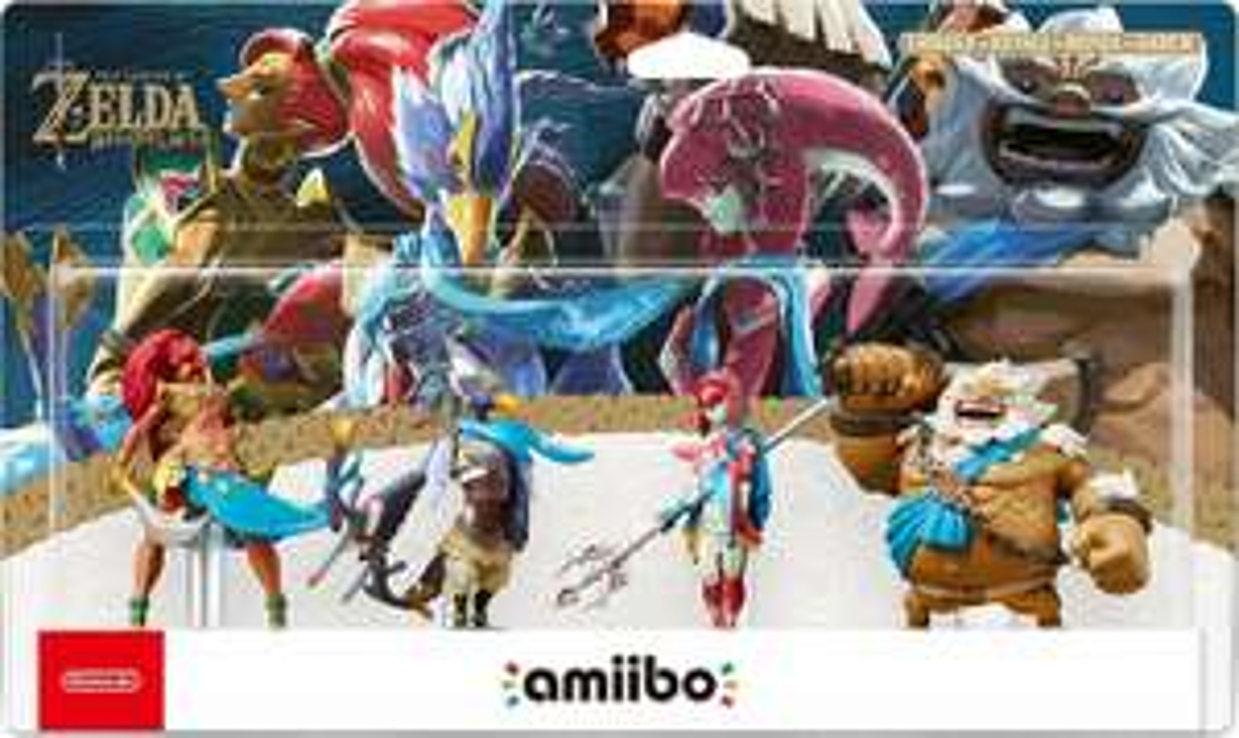 Breath of the wild: champions amiibo set