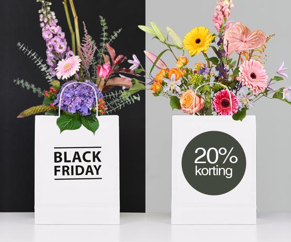 [Black Friday] 20% korting op alle boeketten @ Topbloemen