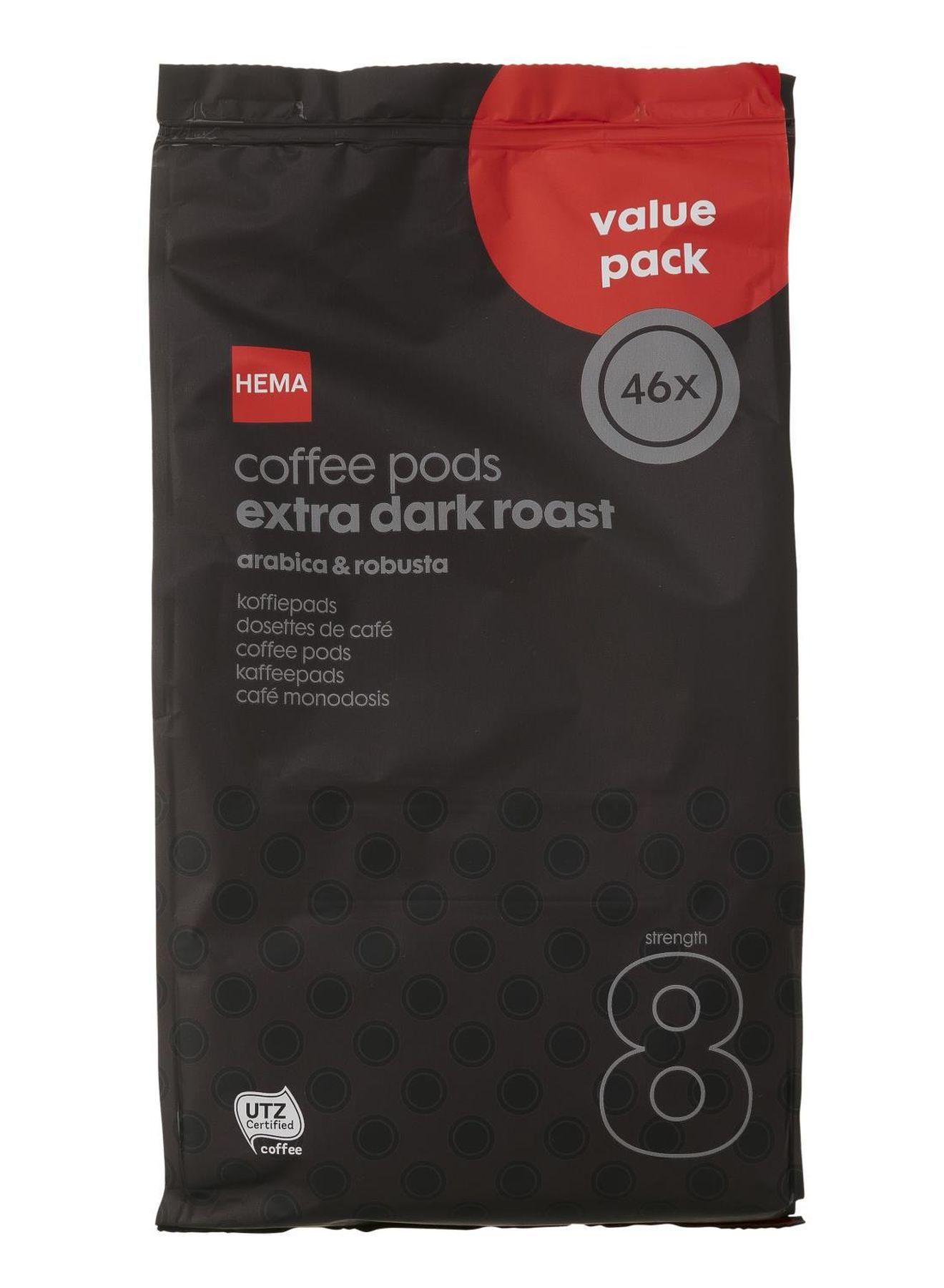 4 x 46 koffiepads voor 7.50