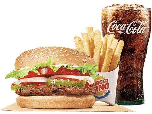 Bijna gratis Whopper & Long chicken menu met ING spaarpunten @Deliveroo