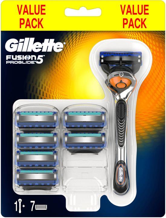 Gillette Fusion ProGlide Scheersysteem + 6 scheermesjes [50% korting]