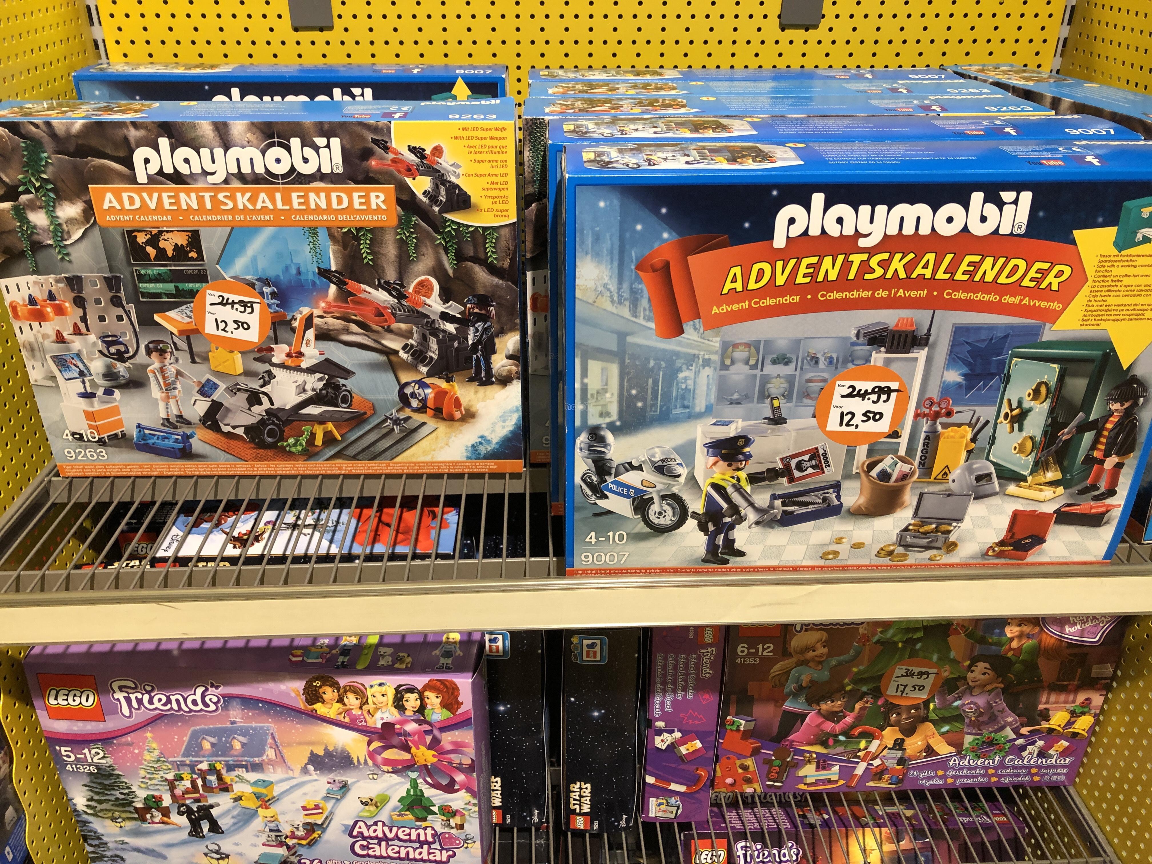 Playmobil advent kalenders intertoys xl roermond