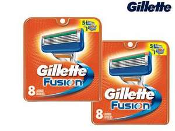 16 Gillette fusion mesjes inclusief verzending €32,90
