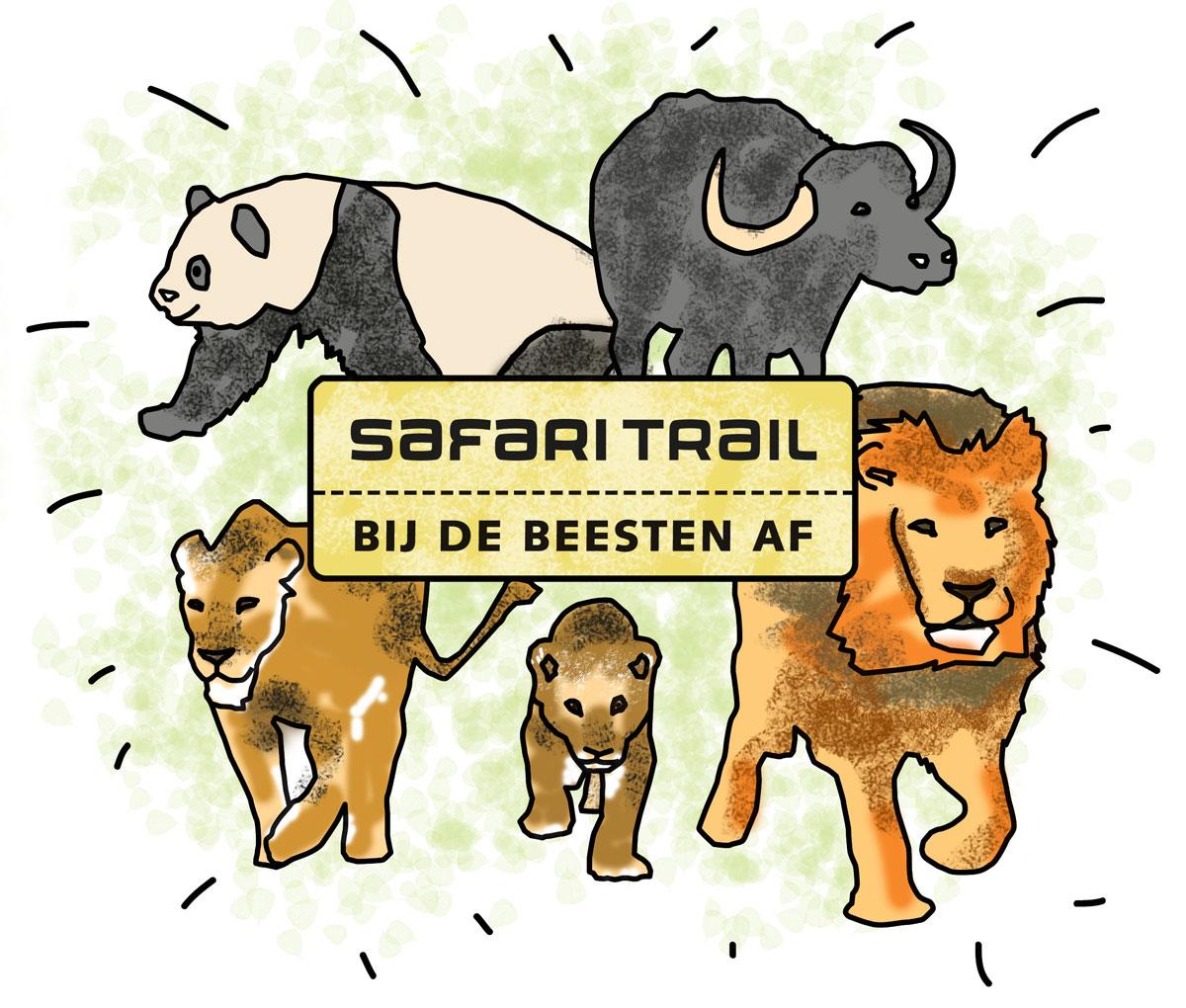 Goedkoop naar Burgers Zoo voor supporters Safari Trail