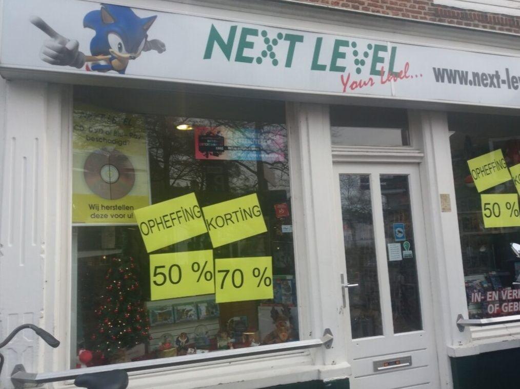 Next-Level Amersfoort - Games Opheffinguitverkoop, tot 70% korting