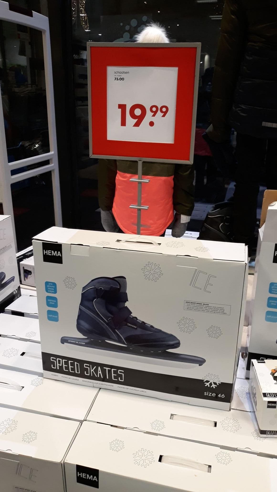 Hema noren, schaatsen €19,99 (lokaal?)