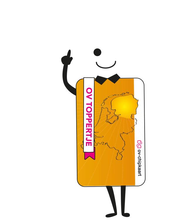 OV chipkaart 2,50 euro ipv 7,50 euro OP=OP (Alleen voor inwoners Groningen, Friesland, Drenthe.)