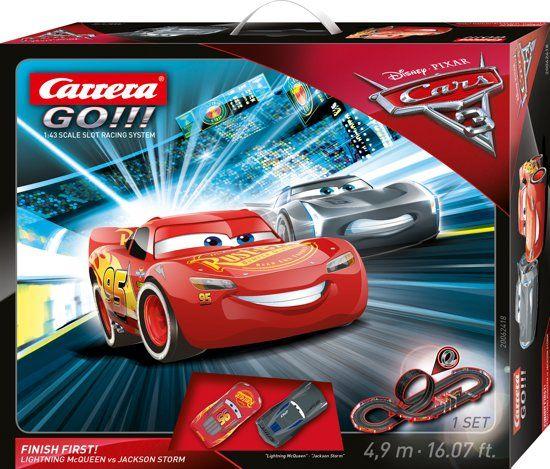 59% korting   Disney Cars 3 Finish First! - Racebaan (i.p.v. €74,99) @Bol