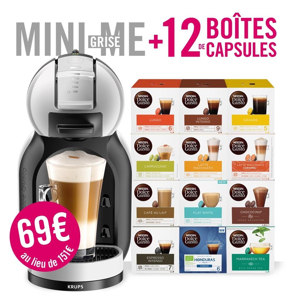 dolce gusto mini me + 12 dozen capsules(grensdeal BE)