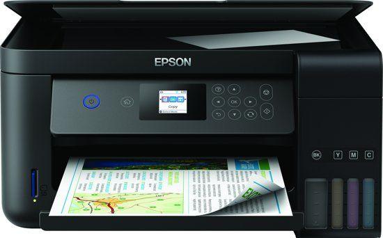 Tot €50,- cashback op een Epson EcoTank-printer