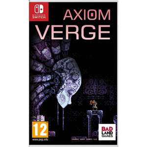 Axiom Verge - Nintendo Switch (Fysiek)
